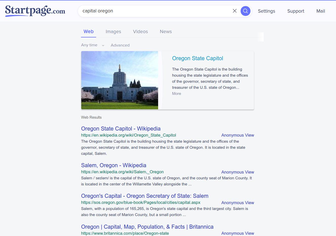Startpage image